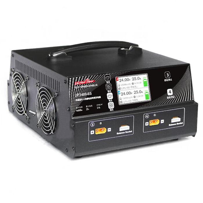 UP2400-6S 四通道无人机锂电池充电器(2~6S)